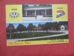 Old Dominion Motel  1 Mi North Of Roanoke  Virginia  Ref 4263 - Etats-Unis