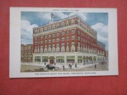 Francis Scott Key Hotel  Frederick   Maryland  Ref 4263 - Etats-Unis