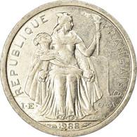 Monnaie, Nouvelle-Calédonie, Franc, 1988, Paris, SUP, Aluminium, KM:10 - Norwegen