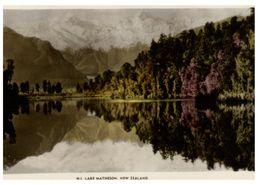 (G 14) New Zealand (older) Lake Matheson - Nouvelle-Zélande