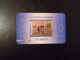 FRANCE YT A430 LE FOOTBALL TIMBRE EN ARGENT** - France