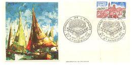 (G 13) EUROPA CEPT - France FDC / Premier Jour - 1977 - Sérigraphie De Poussin - 1977