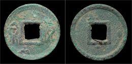 China Xin Dynasty Emperor Wang Mang AE Huo Quan - Cina