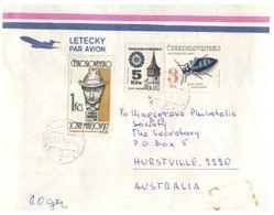 (G 13) Ceskoslovensko To Australia -  Letter 1983 ? - Czechoslovakia
