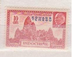 KOUANG TCHEOU      N°  YVERT  :    138       NEUF AVEC CHARNIERES      ( CHARN  03/ 41 ) - Unused Stamps