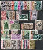 1960-61. * Edifil: RIO MUNI 1/20, SAHARA 139/68, 172/97. Lote De 16 Series Completas - Sahara Espagnol