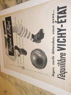 ANCIENNE PUBLICITE TOUJOURS D ATTAQUE   VICHY ETAT 1957 - Affiches