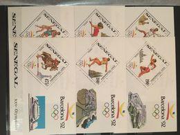 Senegal Olympic Barcelona Summer 1992 6 Blocks MNH** - Summer 1992: Barcelona