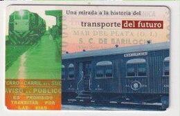 TK 25984 ARGENTINA - Chip Train - Trains