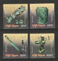 Vietnam Viet Nam MNH Perf Stamps 2018 : National Treasure Objects / Bronze Items (series 1) (Ms1098) - Vietnam