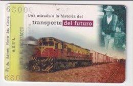 TK 25985 ARGENTINA - Chip Train - Trains
