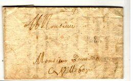 35191 - De RILLIEU LA PAPE 1658 - Marcophilie (Lettres)