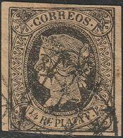 1864. Edifil: CUBA 12. ISABEL II - Cuba (1874-1898)