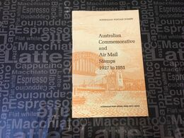 (Book) Australia - The Air Mail Stamps Of Australia (22 Cmx 14 Cm - Weight 105 G) - Timbres