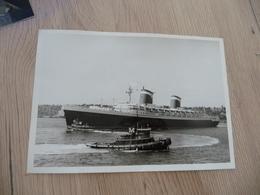 Photo Originale  1963 Paquebot United States 12.5 X 13 Cm - Boten