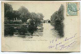 CPA - Carte Postale - France - Villennes - Le Vieux Pont - 1904  (D13343) - Villennes-sur-Seine