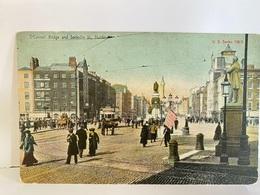 IRELAND Postcard, O'Connell Bridge And Sackville St., Dublin - Dublin
