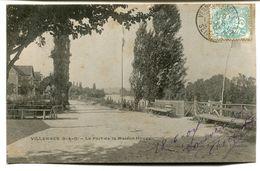 CPA - Carte Postale - France - Villennes - Le Port De La Maison Houpy - 1904  (D13345) - Villennes-sur-Seine