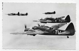(RECTO / VERSO) ROYAL AIR FORCE - BRISTOL BLENHEIM - FORMAT CPA NON VOYAGEE - 1939-1945: 2ème Guerre