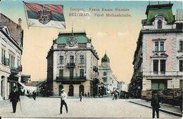 SERBIE BELGRADE BELGRAD FURST MICHAELSTRABE - Serbia