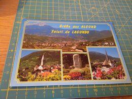 155404 Grusse Aus Algund Saluti Da Lagundo  Usata Per Concorso - Bolzano (Bozen)