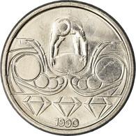 Monnaie, Brésil, 10 Centavos, 1990, TTB+, Stainless Steel, KM:613 - Brazil