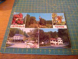 155414 Vetriolo Terme Si Vede Funivia Cartolina  Usata Per Concorso - Bolzano (Bozen)