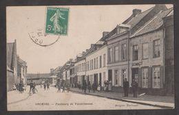 CPA ORCHIES-Faubourg De Valenciennes-Animée- - Orchies
