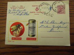 PUBLIBEL N° 1696 Oblitéré AALST En 1960. GRIFFE D'origine De MERE - Ganzsachen