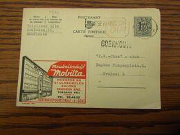 PUBLIBEL N° 1621 Oblitéré Gent X En 1960. GRIFFE D'origine De BOEKHOUTE - Ganzsachen