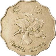 Monnaie, Hong Kong, Elizabeth II, 2 Dollars, 1993, TB, Copper-nickel, KM:64 - Hong Kong