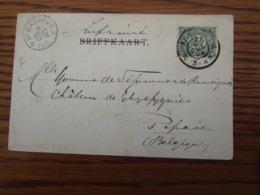 Carte Vue De Sonsbeek Oblitérée Du RELAIS De ST SAUVEUR En 1902 (cote E) - Sterstempels