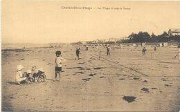 CHATELAILLON : LA PLAGE A MAREE BASSE - Châtelaillon-Plage