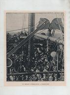 Un Départ D'immigrants à Hambourg Hamburg 1913 - Zonder Classificatie
