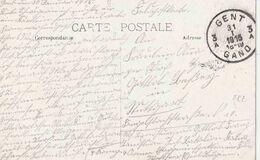 """WO 1 : ZK (Gand)  FELDPOST """" GENT  3 A / 31.I.1915 / GAND 3 A""""  Naar D - Guerre 14-18"""