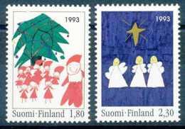 NB - [64249]SUP//**/Mnh-c:3e-N° 1198/99, Noël, Père Noël, Enfants, Sapin, Anges Et étoiles De Noël - Finland