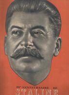 Revue FRANCE URSS N°52 19149 : STALINE L'homme De La Paix   (CAT 1913) - Storia