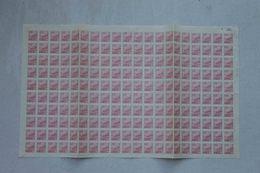 Chine **  Feuille De 200 Timbres  N° 840 - 1949 - ... République Populaire