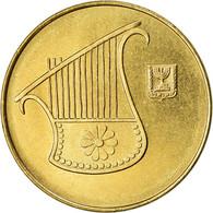 Monnaie, Israel, 1/2 New Sheqel, 1988, SUP, Aluminum-Bronze, KM:159 - Israel