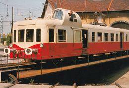 Minervois Armis Narbonne At Le Sivom Ginestas Train Postcard - Treni