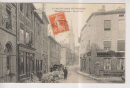 CPA-43-Haute Loire- MONTFAUCON- Grand'Rue- - Montfaucon En Velay