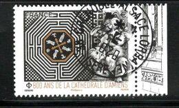 France 2020.800 Ans De La Cathédrale D'Amiens.cachet Rond Gomme D'Origine. - Frankreich