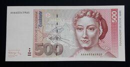 Germany 500 DM Mark 1991 UNC AA - 500 Deutsche Mark