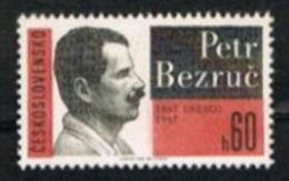 CECOSLOVACCHIA (CZECHOSLOVAKIA) - SG 1668 - 1967  P. BEZRUC, POET  - MINT** - Czechoslovakia