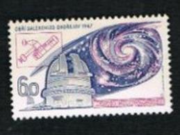CECOSLOVACCHIA (CZECHOSLOVAKIA) - SG 1674 - 1967 INT. ASTRONOMIC UNION CONGRESS   - MINT** - Czechoslovakia