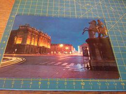 155505 Cartolina Di Torino Spedita Manca Francobollo - Places & Squares