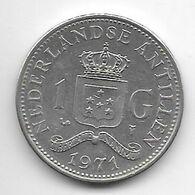 Netherlands Antilles  1 Gulden  1971  Km 12    Xf - Antillen (Niederländische)