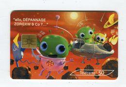 Telecarte 50u °_ 1264C-Critiques 5-Mars-So3-02.03-1138- R/V - France