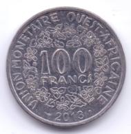 AFRIQUE DE L'OUEST 2013: 100 Francs - Monedas