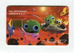 Telecarte 50u °_ 1264E-Critiques 5-Mars-SA1-03.03-3961 R/V - France
